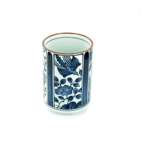 Japanese porcelain teacup