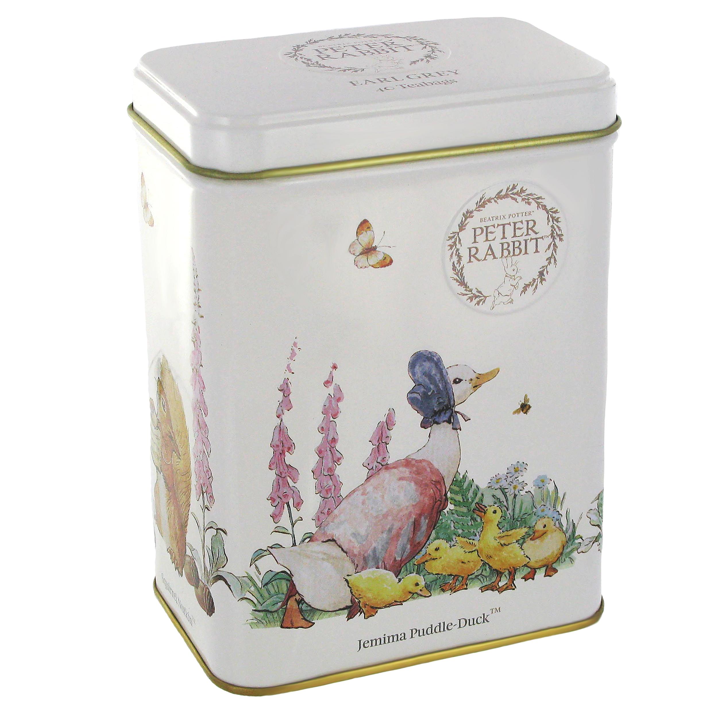 Jemima Puddle-duck tea caddy (Earl Grey tea)
