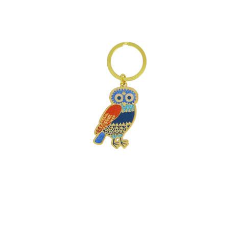 Little owl keyring