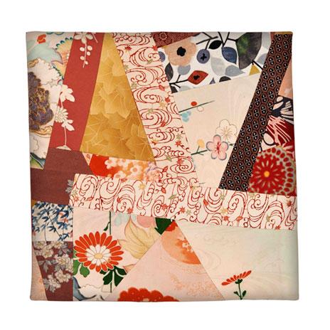 Kimono cushion cover