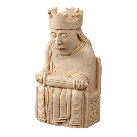 King Lewis Chess Piece