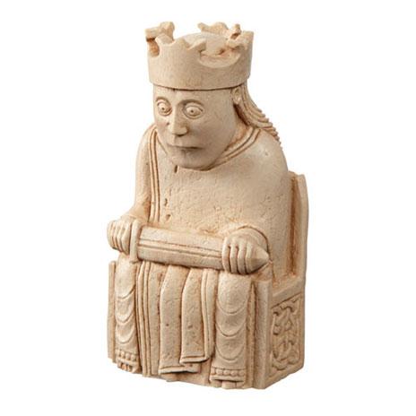 King Lewis Chess piece