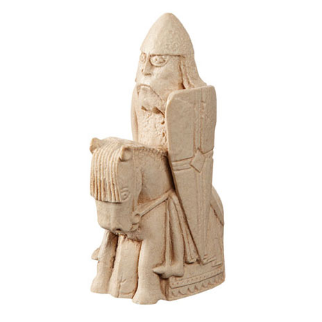 Knight Lewis Chess piece