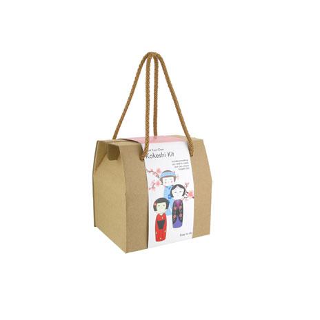 Kokeshi doll craft kit