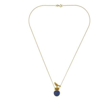 Lapis Horus necklace