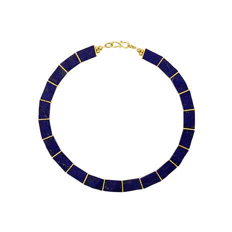 Lapis Lazuli collar necklace
