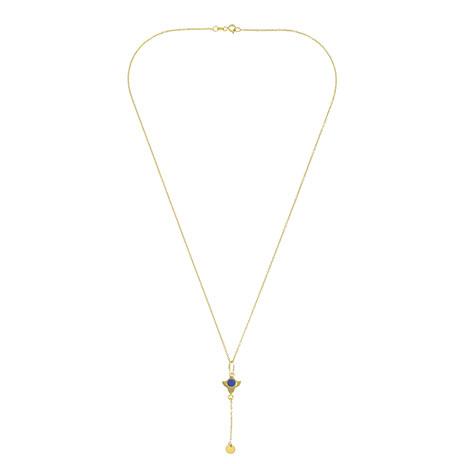 Lapis gold necklace (Anar)