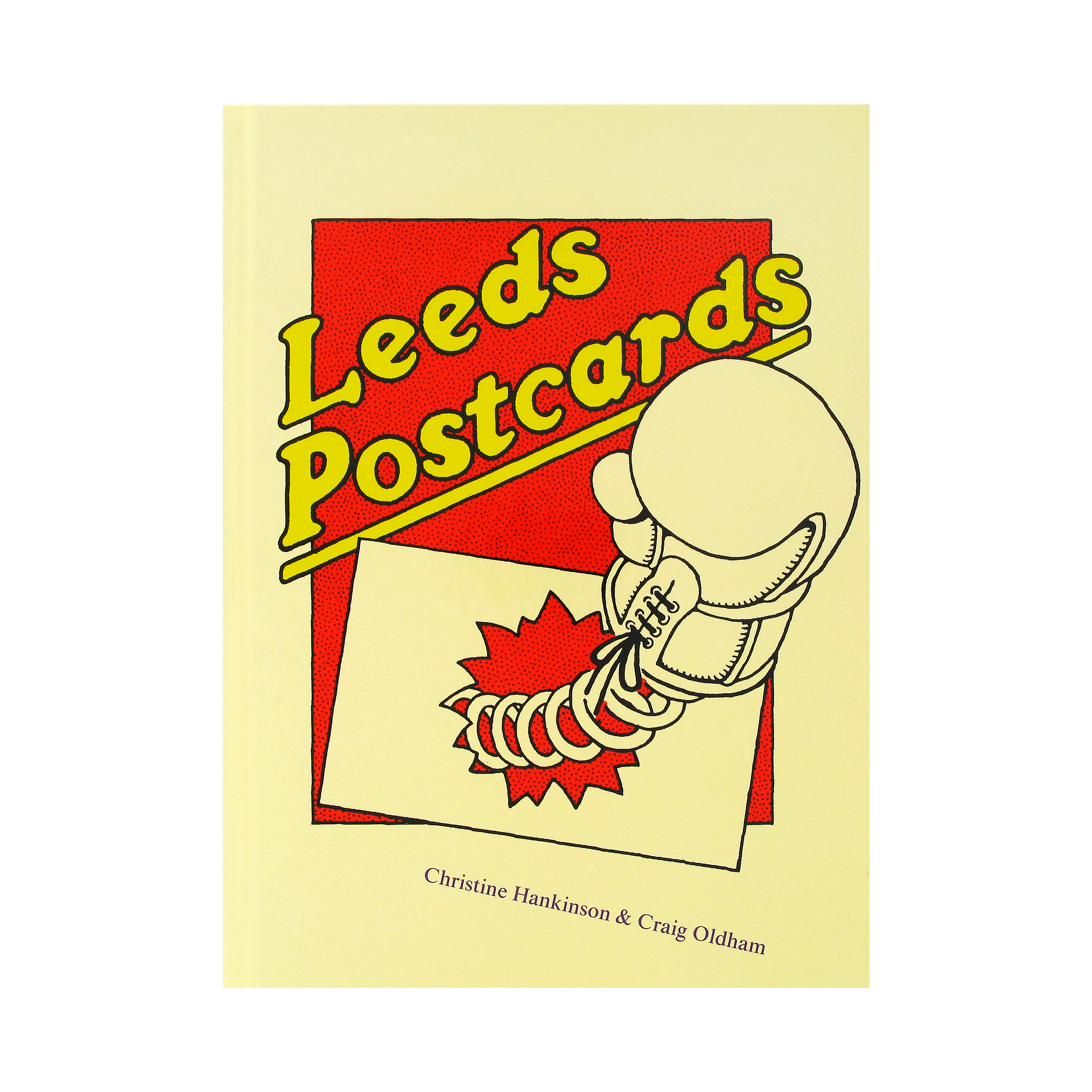 Leeds postcards book
