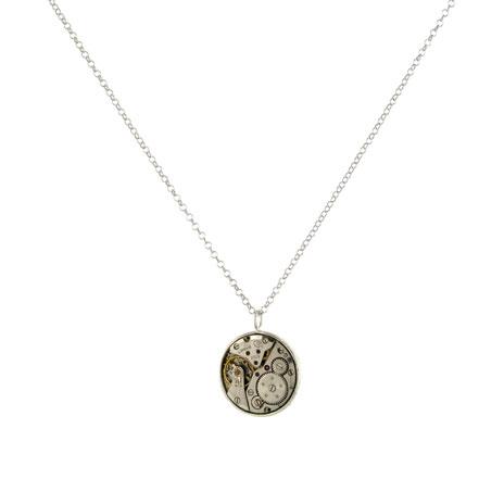 Clockwork necklace (large pendant)