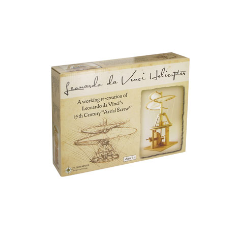Leonardo Da Vinci helicopter kit