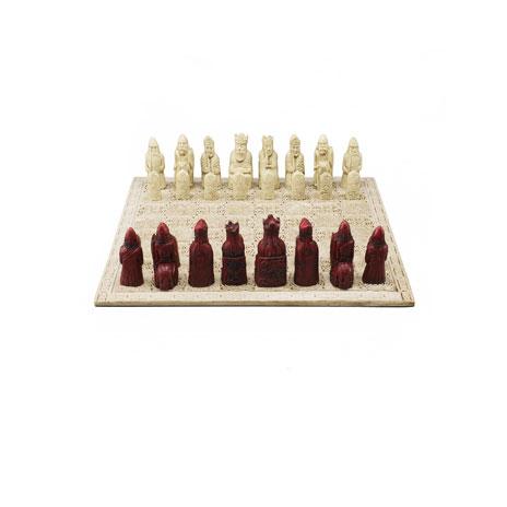Lewis Chessmen Chess Set, Medium