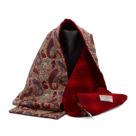 Harris Tweed & Liberty scarf (fabrics vary)