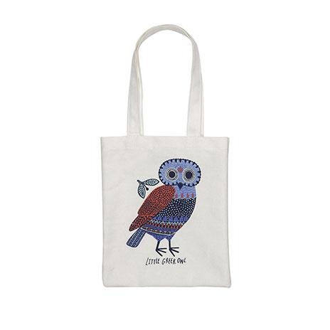 Little owl children's tote bag
