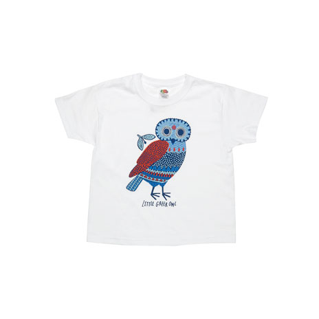 Little owl children's t-shirt (3-4yrs)