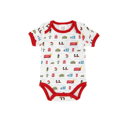 London baby suit, 0-6 months