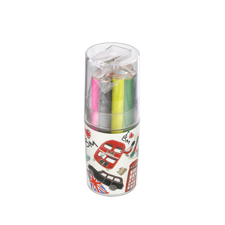 London bus pencil pot