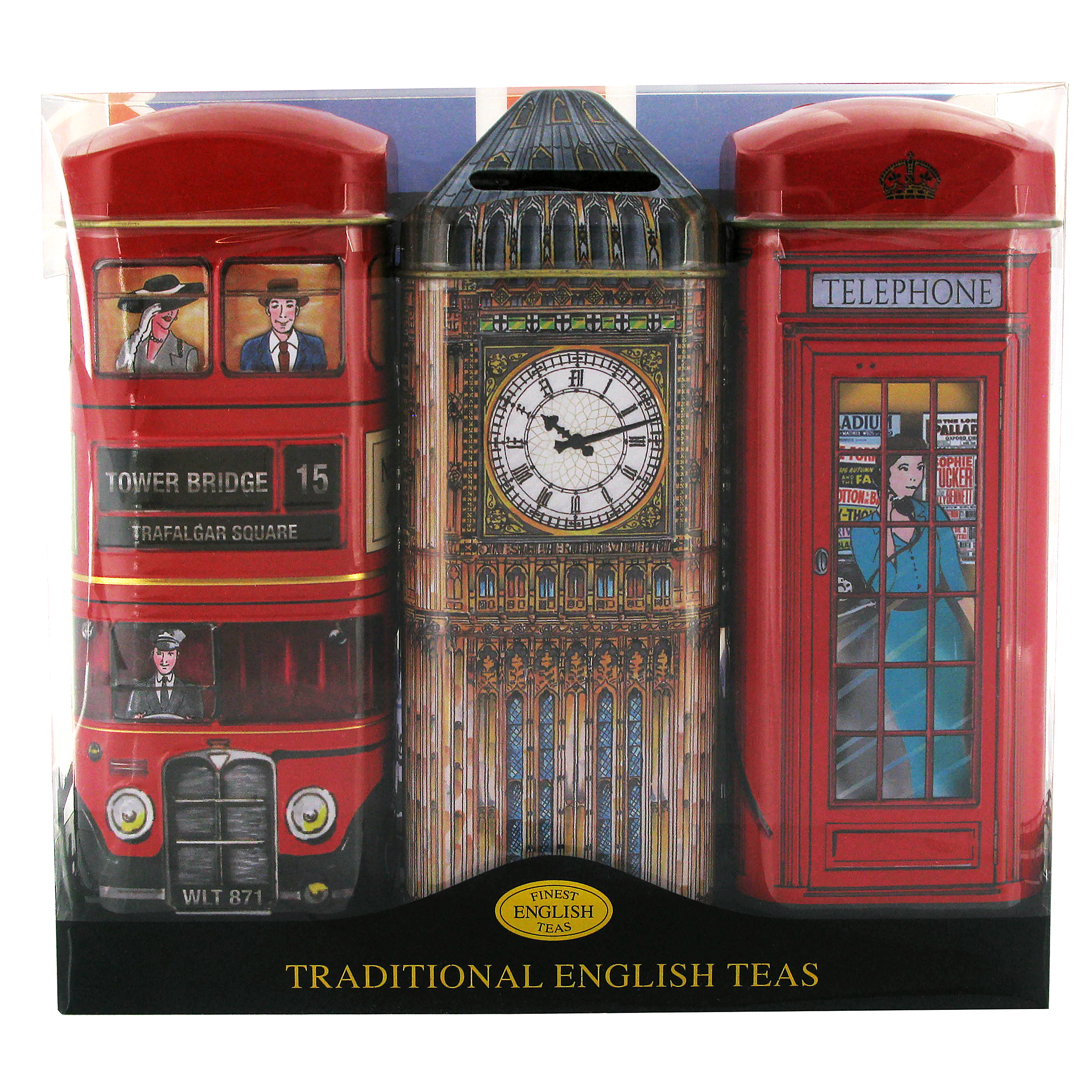 London tea gift set pack of 3
