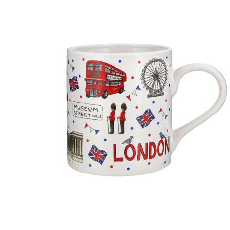 London white spot mug