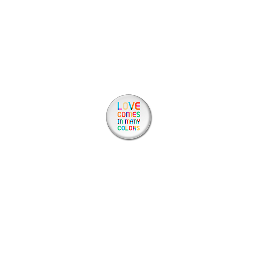 Love colours badge