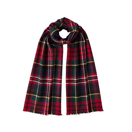 Macpherson classic tartan scarf