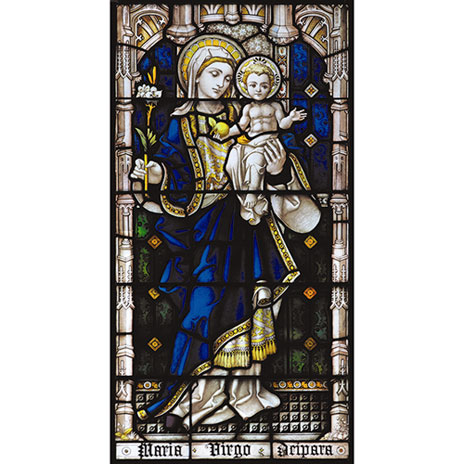 Madonna & Child window transfer