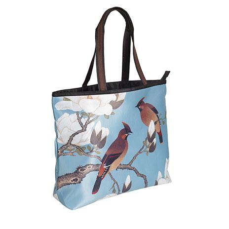 Waxwing and Magnolia shopper bag