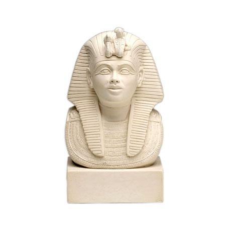 Mask of Tutankhamun sculpture