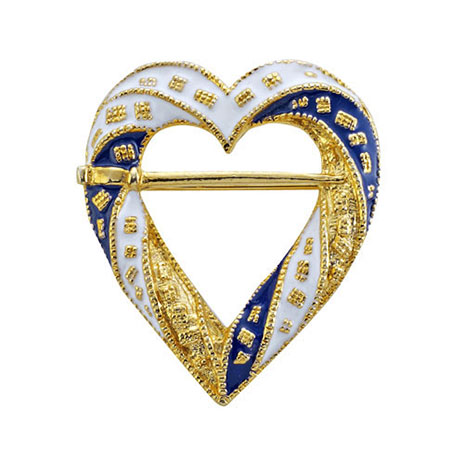 Medieval Heart brooch