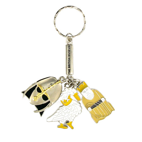 Medieval charms keyring