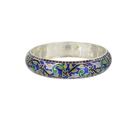 Meena blue bangle (British Museum e...