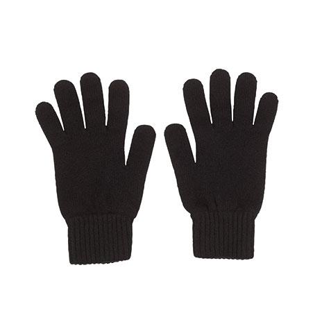 Men's cashmere gloves (black)