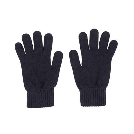 Mens cashmere gloves (navy)