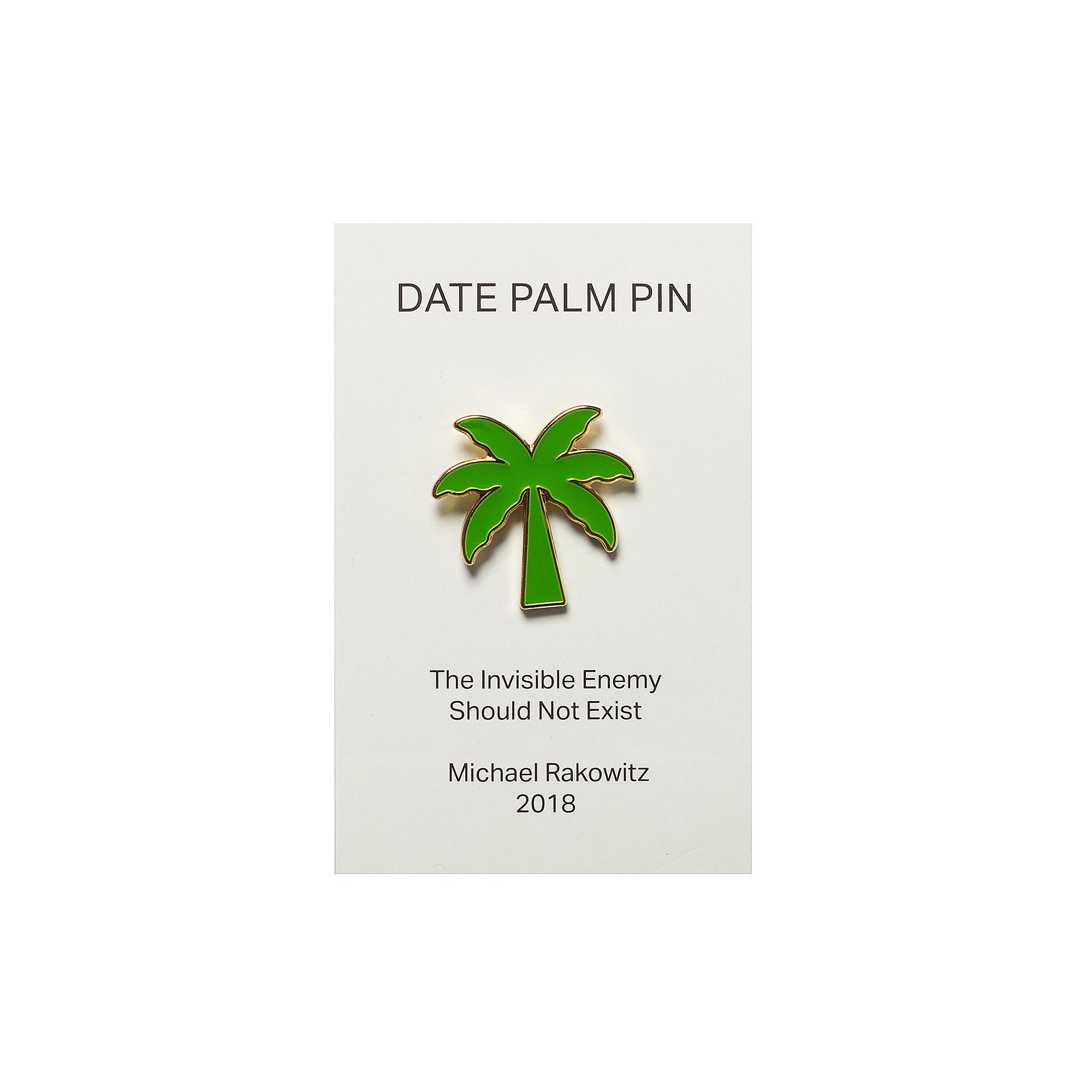 Michael Rakowitz pin badge