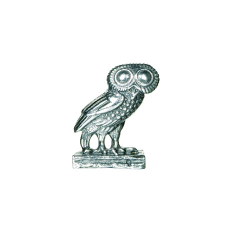 Greek Owl miniature