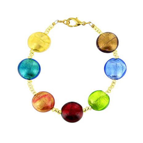 Murano beaded bracelet