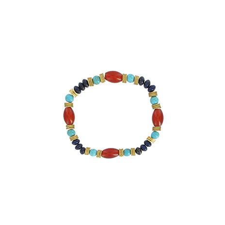 Nefertiti beaded bracelet