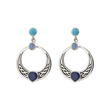 Irish Heart earrings