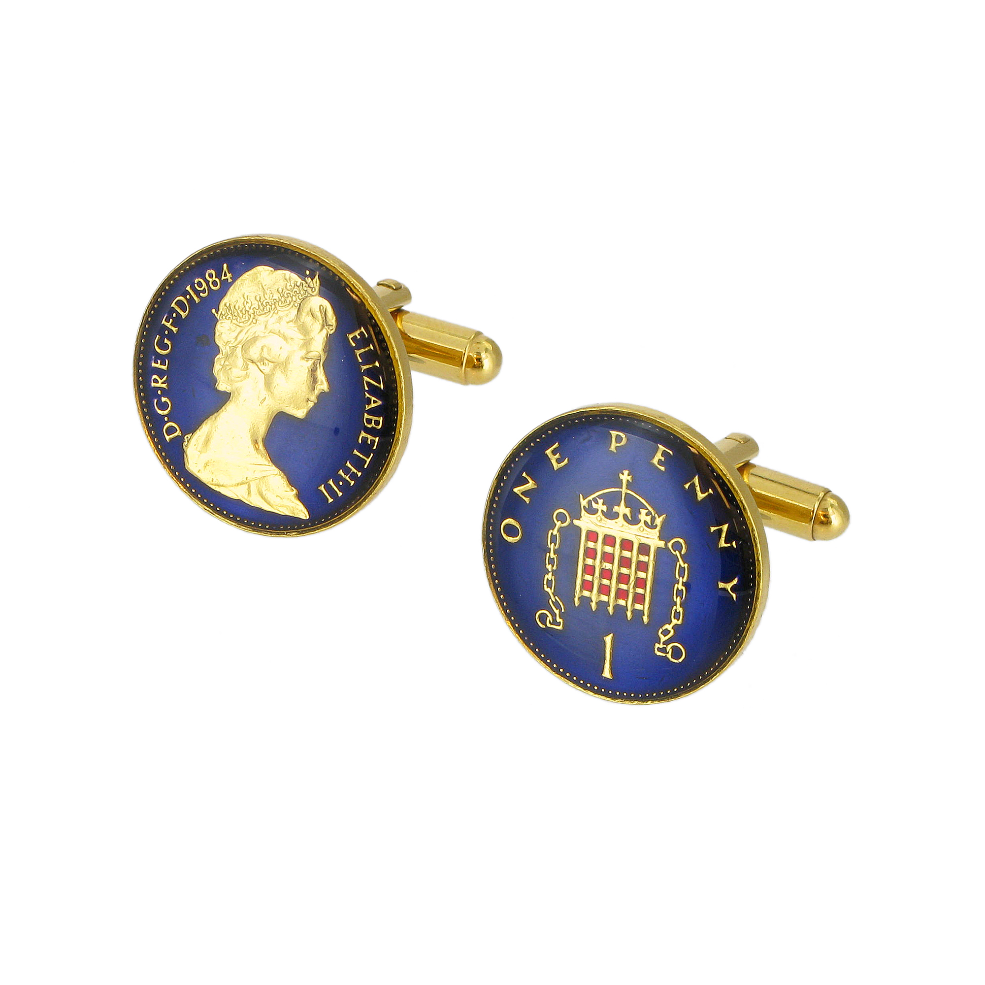 One Penny Cufflinks