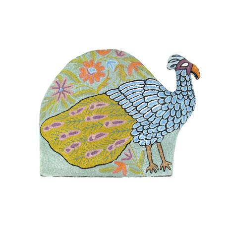 Peacock tea cosy
