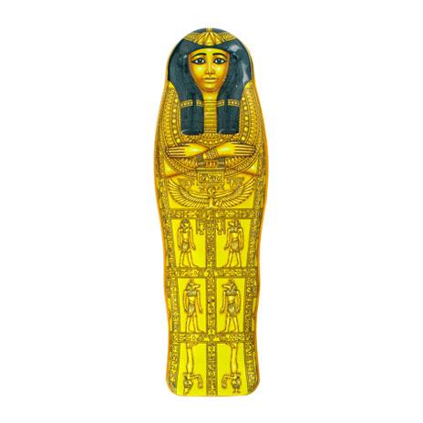 Mummy pencil tin, Henutmehyt