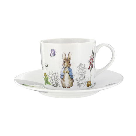 Peter Rabbit cup & saucer gift set