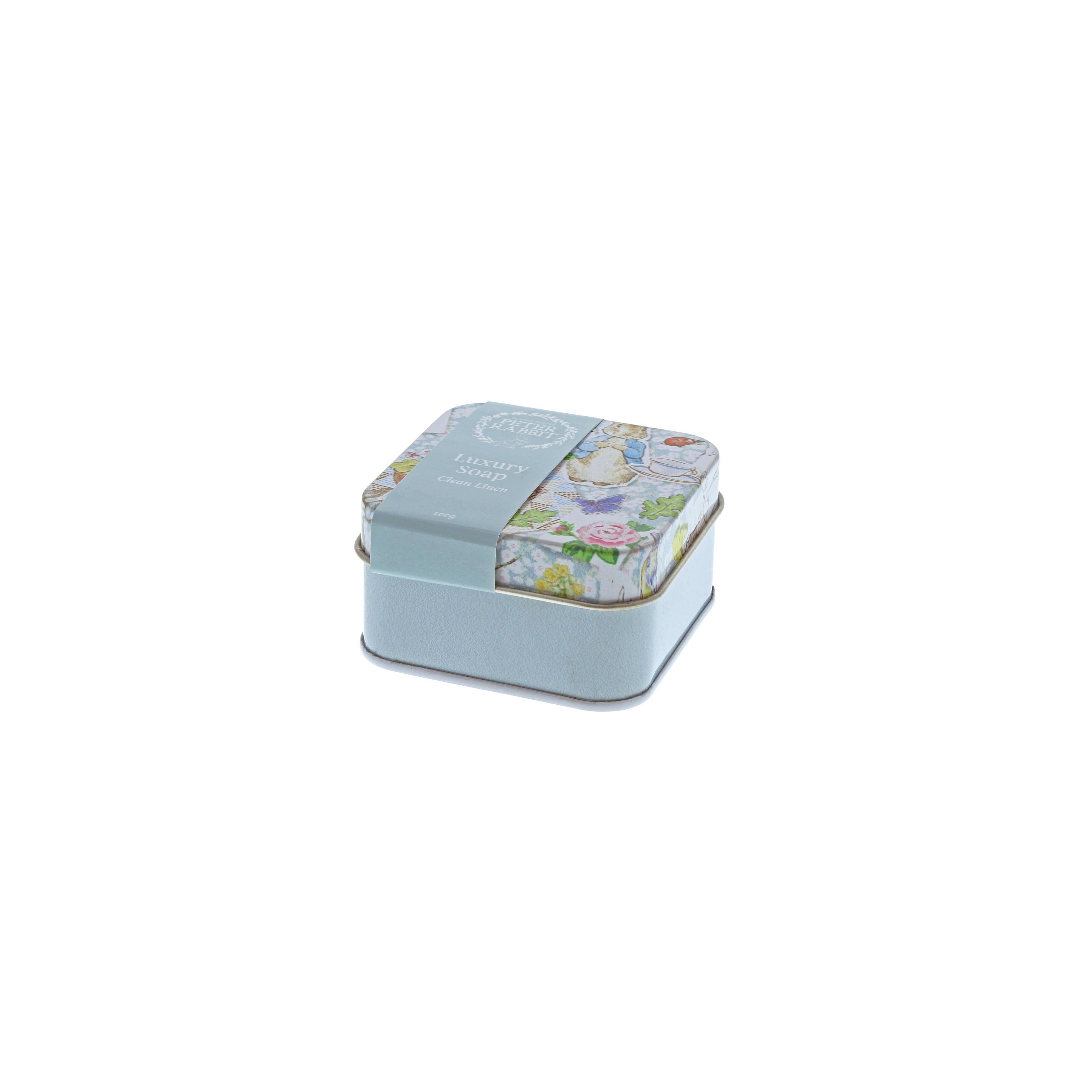 Peter Rabbit soap tin