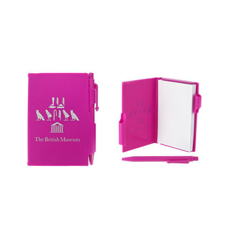 Souvenir pocket notepad - pink