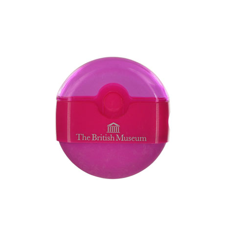 Souvenir eraser sharpener - pink