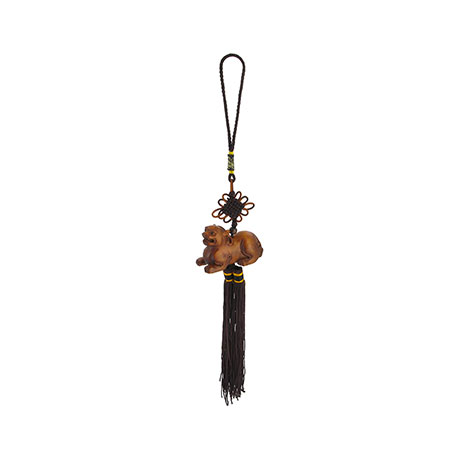 Netsuke tassel decoration (Pixiu guardian)