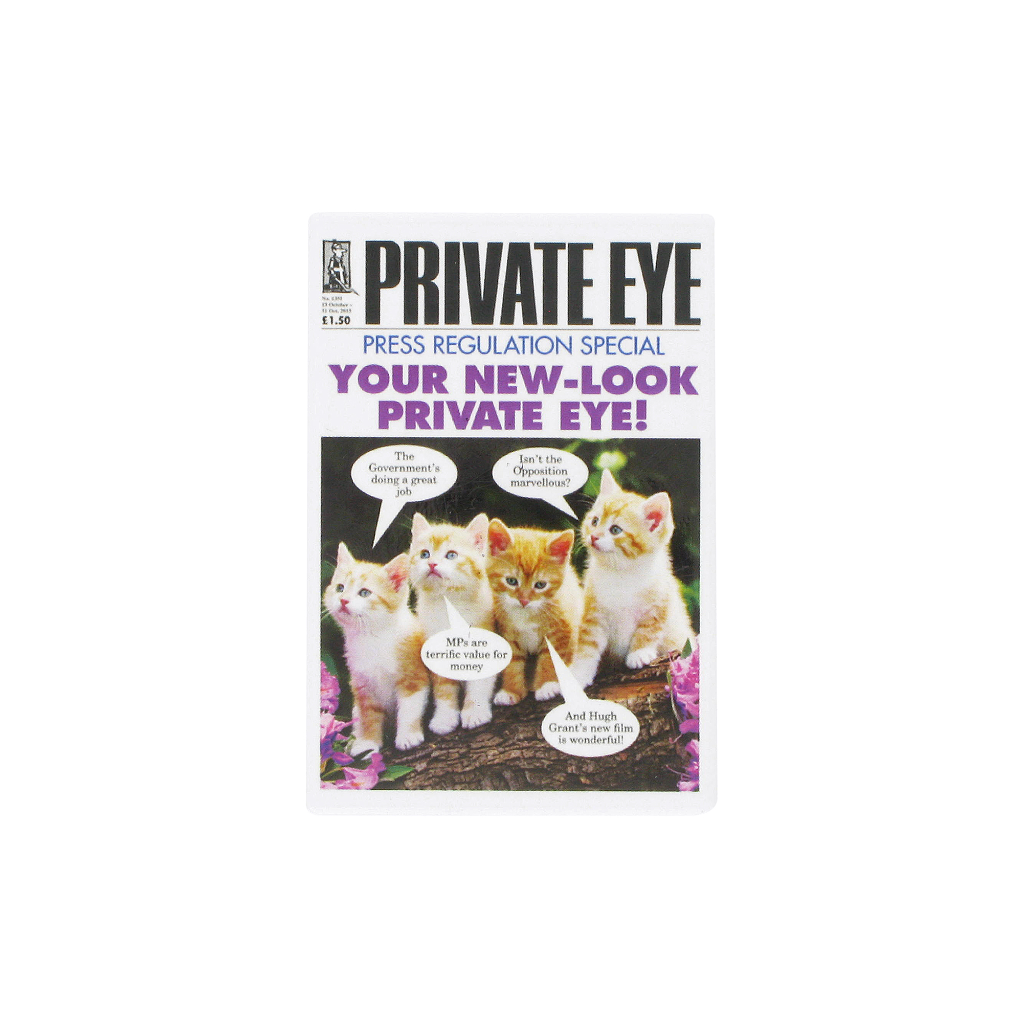 Private Eye magnet