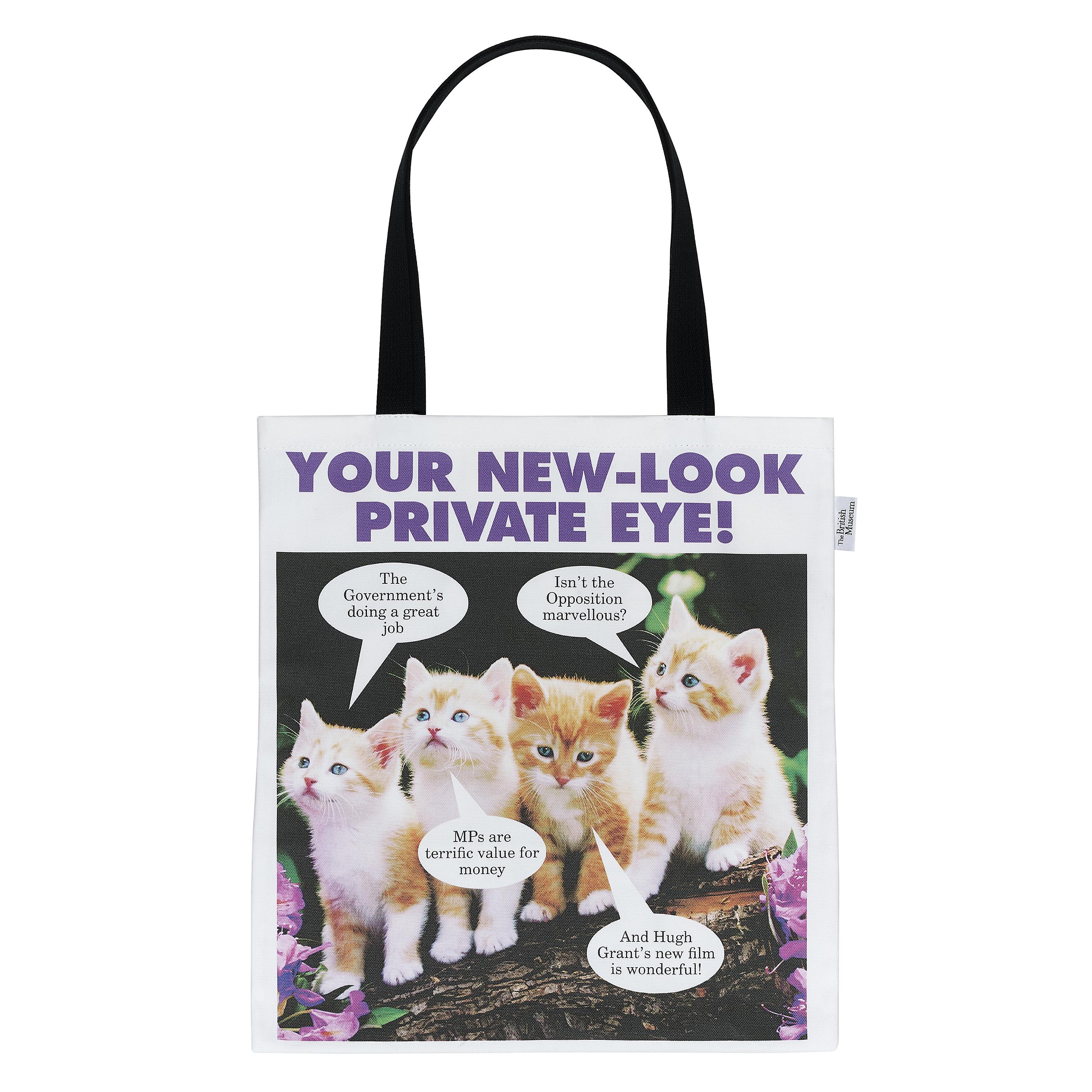 Private Eye totebag