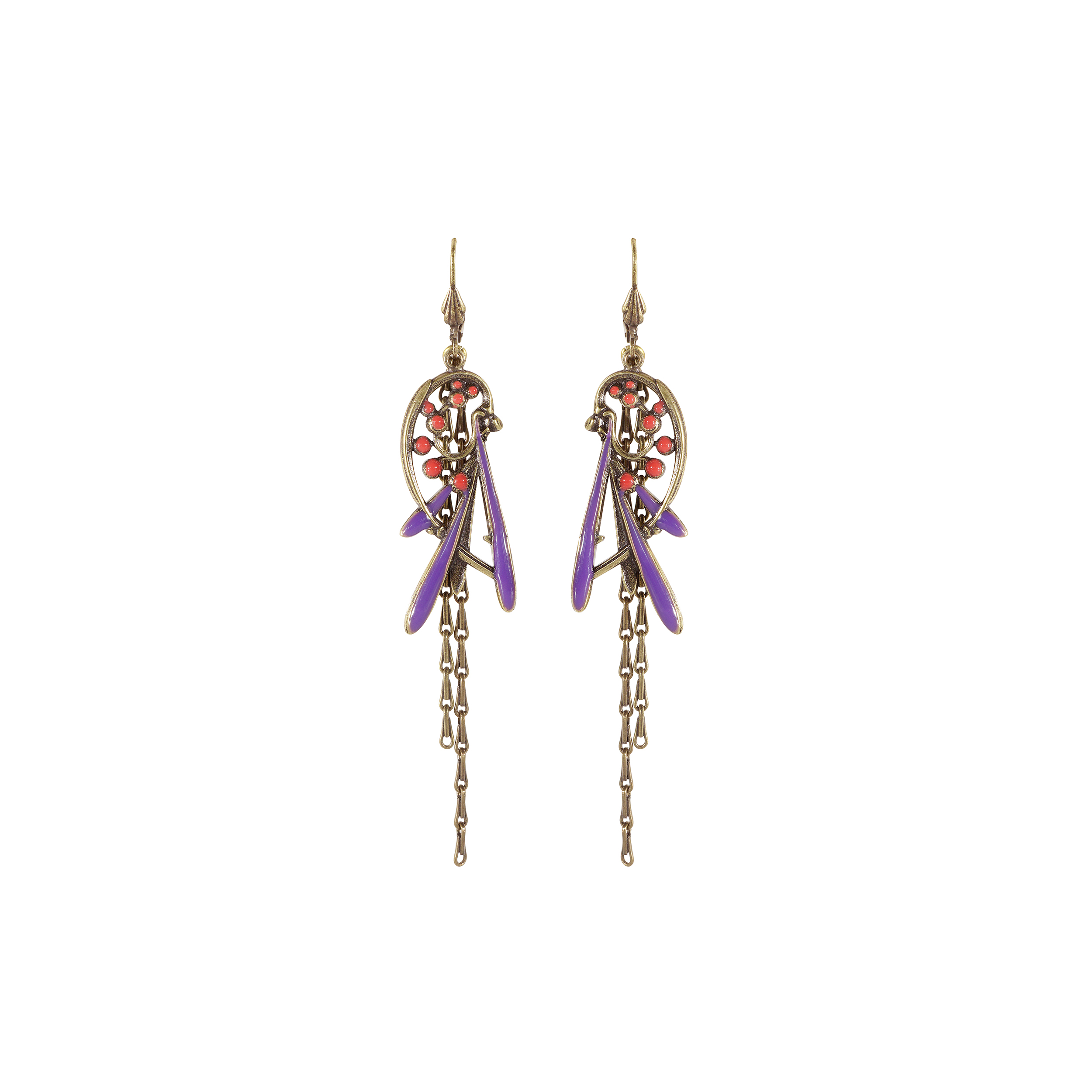 Prunelle drop earrings