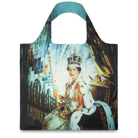 Queen Elizabeth packable bag