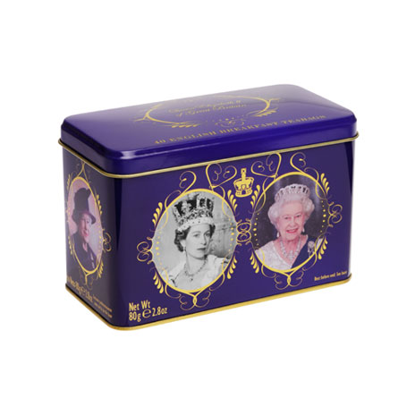 Coronation tea tin